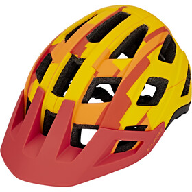 Cube Badger Casco, orange camo